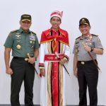 Presiden Jokowi Terima Gelar Adat Maluku