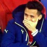 Alexis Sanchez Tertawa Lihat Gawang Arsenal Dibobol Arturo Vidal