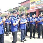Bupati Batang Hari Bergembira dengan Pasukan Damkar