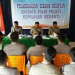 Kosumsi Narkoba, 9 Anggota Polres Meranti Disidang