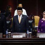 Osman Sapta Odang dengan Tiga Jabatan Penting