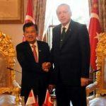 Pertemuan Bilateral Turki – Indonesia, Salam Jusuf Kalla Dijawab Erdogan : Walaikum Salam My Brother