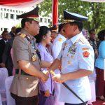 Ucapan Selamat Bertugas dari Wakapolri Komjen Syafruddin kepada Panglima TNI Marsekal TNI Hadi Tjahjanto