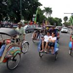 Tukang Becak Luar Daerah Mulai Datangi Jakarta