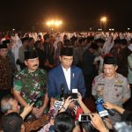 Kapolri Buka Puasa Bersama Presiden, Jokowi : TNI Polri Sangat Solid