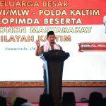 Kapolri di Samarinda, Tito : Semoga Kita Dapat Lailatul Qadar
