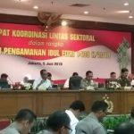 Begini Video Conference Kapolri dan Panglima TNI Hadapi Lebaran Idul Fitri 2018