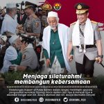 Polda Banten : Menjaga Silaturahmi Membangun Kebersamaan