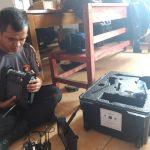 Detasemen Gegana Satbrimobda Banten Lakukan Pemeriksaan Alsus Bom