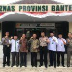 Polda Banten Salurkan Zakat Pendapatan Personil ke Baznas