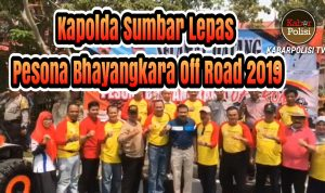 Kapolda Sumbar Lepas Pesona Bhayangkara Off Road 2019