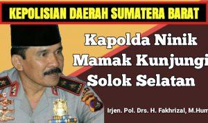 Kapolda Ninik Mamak Kunjungi Solok Selatan