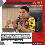 Maklumat Kapolda Papua Barat Brigjen Polisi Herry Rudolf Nahak