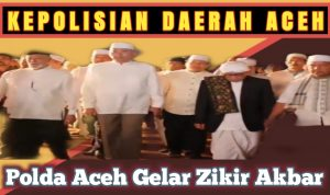 Polda Aceh Gelar Zikir Akbar
