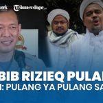 Polisi Persilahkan Habib Rizieq Pulang Ke Indonesia