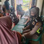 Polres Lhokseumawe Berikan Pelayanan Kesehatan  Kepada Warga Korban Banjir
