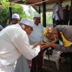 Kapolres Lhokseumawe Tampak Akrab Dengan Ulama Kharismatik Aceh