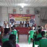 Polres Mentawai Bersama Pokdar Kamtibmas Gelar Sosialisasi