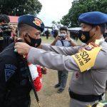 Kapolda Malut Pimpin Penyambutan Brimob Nusantara BKO Polda Papua