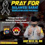 Duka dan Doa Kapolres Kepulauan Mentawai untuk Korban Gempa Mamuju, Majene, Polewali