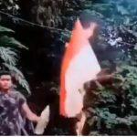 Polri Buru WNI Pembakar Bendera Merah Putih di Malaysia