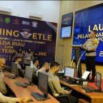 Polda Riau Luncurkan 11 Layanan ONline Terpadu