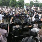 Polisi Sudah Amankan 200  Massa Pendemo Bersama Pengacara Rizieq Shihab