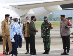 Kapolda beserta Forkopimda Sambut Kunjungan Presiden RI ke  Aceh