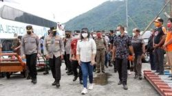 Wakapolda Sulut Tinjau Penanggulangan Covid-19 di Kabupaten Sitaro