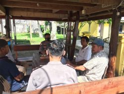 Kapolsek Siberut Selatan Ajak Purnawirawan Polri Sukseskan Vaksin