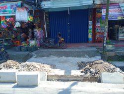 Proyek Pedisterian Pasar Padang Panjang Mandek, PUPR Terkesan Lempar Tanggungjawab