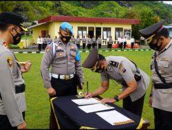 Kompol Alvira Gantikan Hamidi Waka Polres Padang Panjang