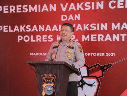 Irjen Pol Agung Kejar Target Herd Immunity di Riau 70 Persen Tercapai